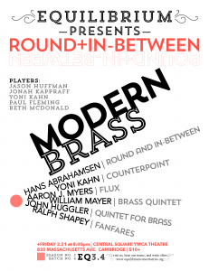 Boston Modern Brass - Round and In-Between
